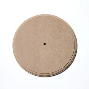 [CL1180] [아트공구] 원형시계판 大 26.5cm두께20mm (고리없슴) /원목/나무시계/가구/