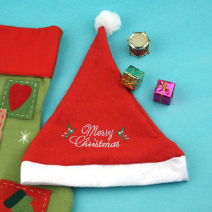 [TM458] [아트공구] 1000 크리스마스 자수 산타 모자
