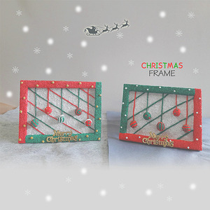 [TD3725] [아트공구] 크리스마스 액자 만들기 - 5인세트 /크리스마스만들기/겨울액자/클레이액자/