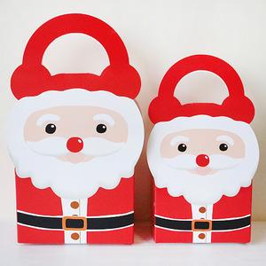 [IM0021] [아트공구] 산타핸들상자-2개 /산타상자/크리스마스선물상자/크리스마스상자/
