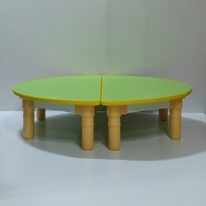 [LT011] [아트공구(테두리보호몰딩) 책상반원세트25cmm/29cmm /칼라책상/교구/책상/